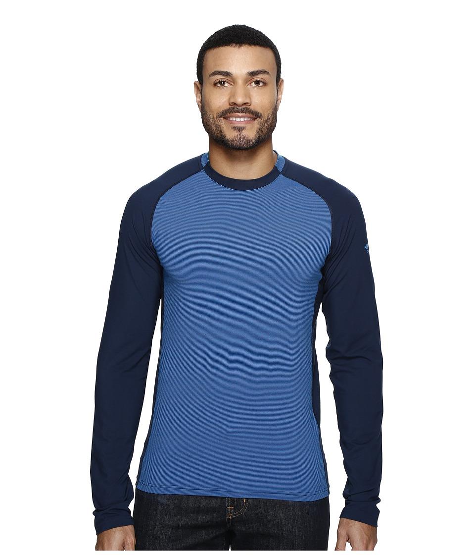 Mountain Hardwear - Butterman Crew (Hardwear Navy) Men's Long Sleeve Pullover