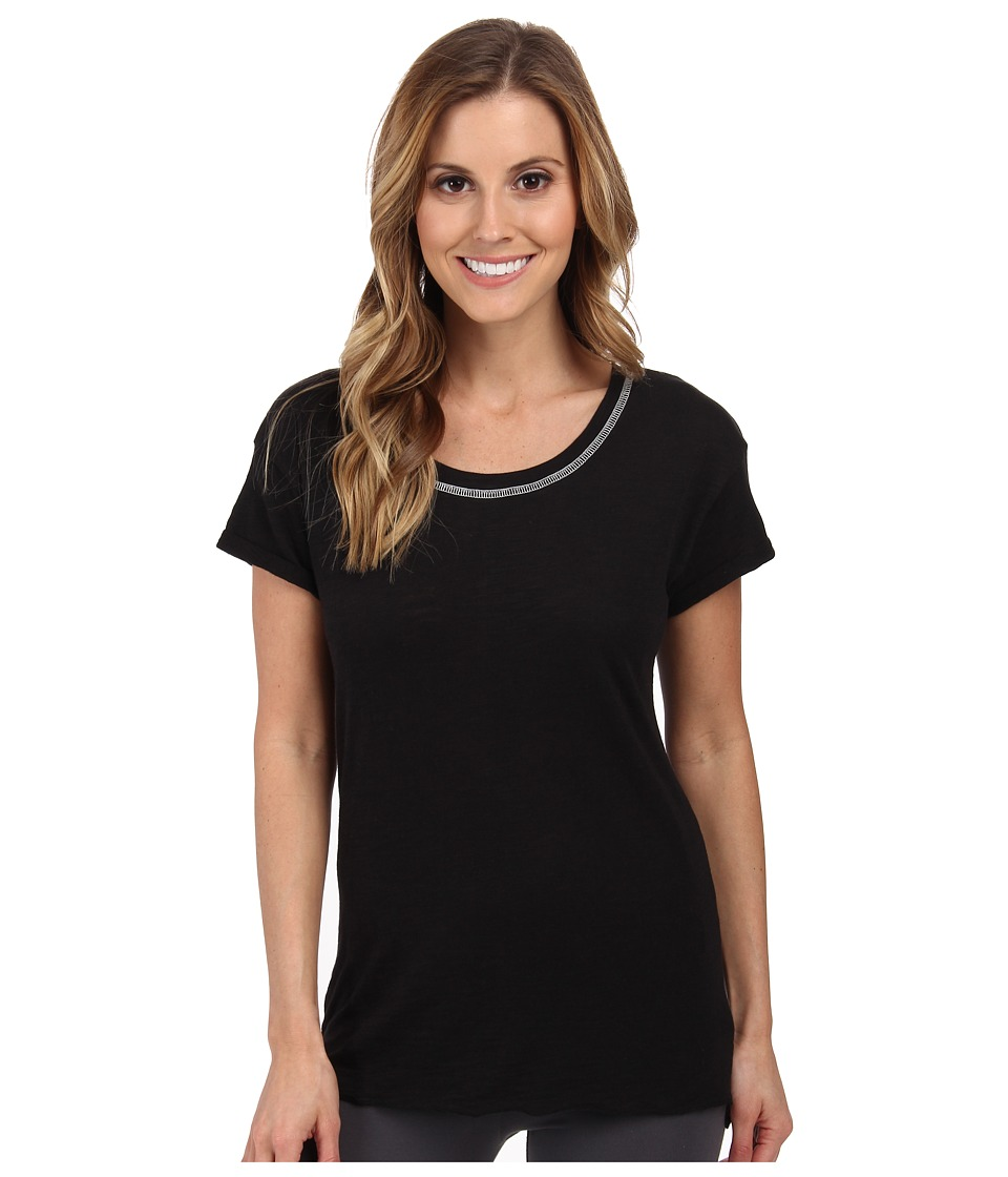 P.J. Salvage - Scoop Neck Sleep Tee (Black) Women's Pajama