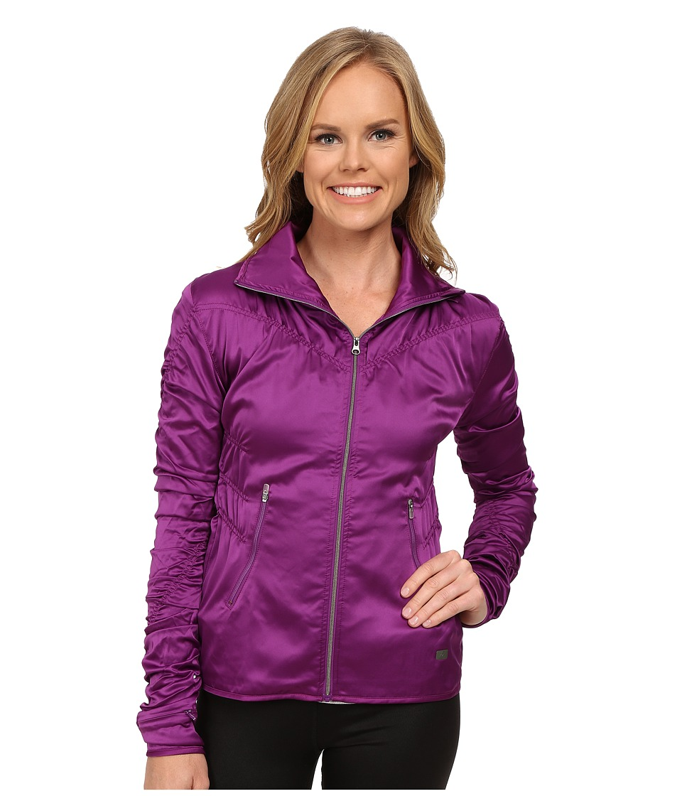 ASICS - Studio Fit Sana Ruched Jacket (Byzantium) Women's Workout