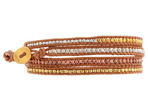 Chan Luu - 32 Gold Mix/Beige Wrap (Gold Mix/Beige) Bracelet
