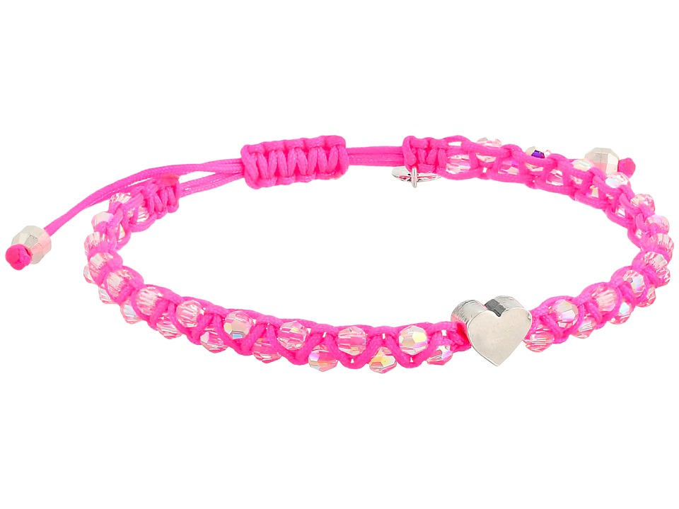 Chan Luu - Adjustable Single w/ Heart Charm (Crystal AB/Fandango) Bracelet