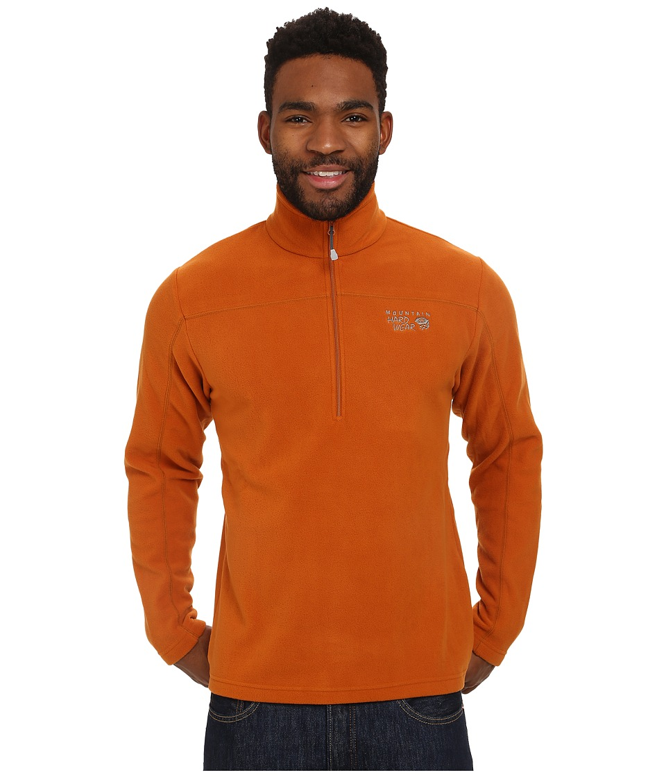 Mountain Hardwear - Microchill Zip T (Bright Cooper) Men