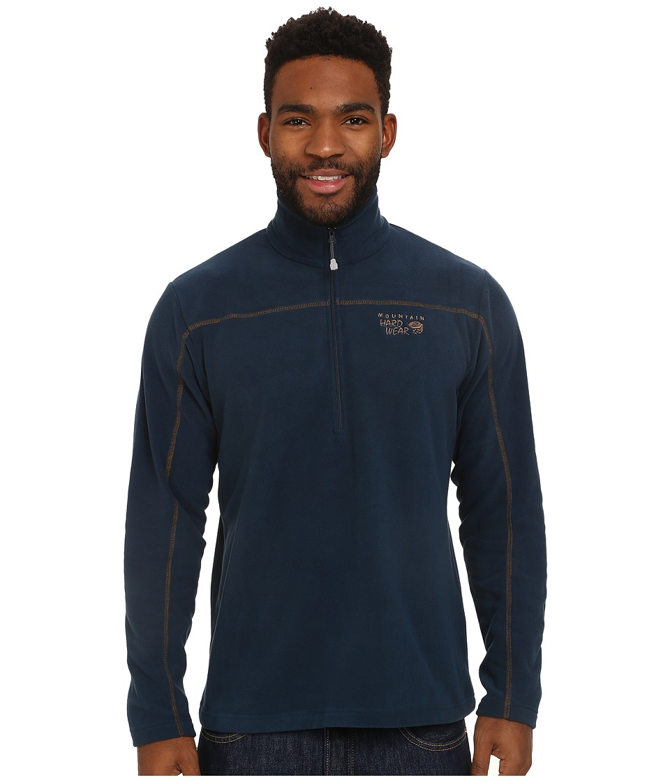 Mountain Hardwear - Microchill Zip T (Hardwear Navy) Men