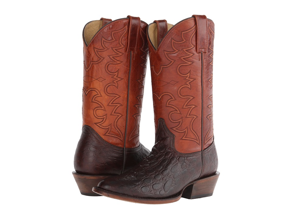 Roper Tortuga R (Brown) Cowboy Boots