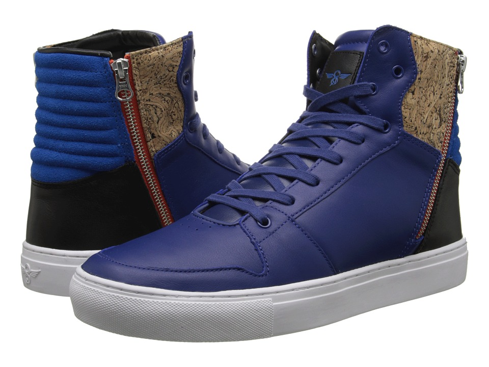 Creative Recreation - Adonis (Blue/Orange) Men's Shoes