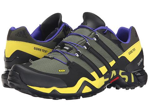 adidas Outdoor - Terrex Fast R GTX (Base Green/Black/Night Cargo) Men's Shoes