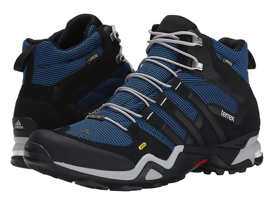 adidas Outdoor - Terrex Fast X Mid GTX (Blue/Black/Clear Onix) Men