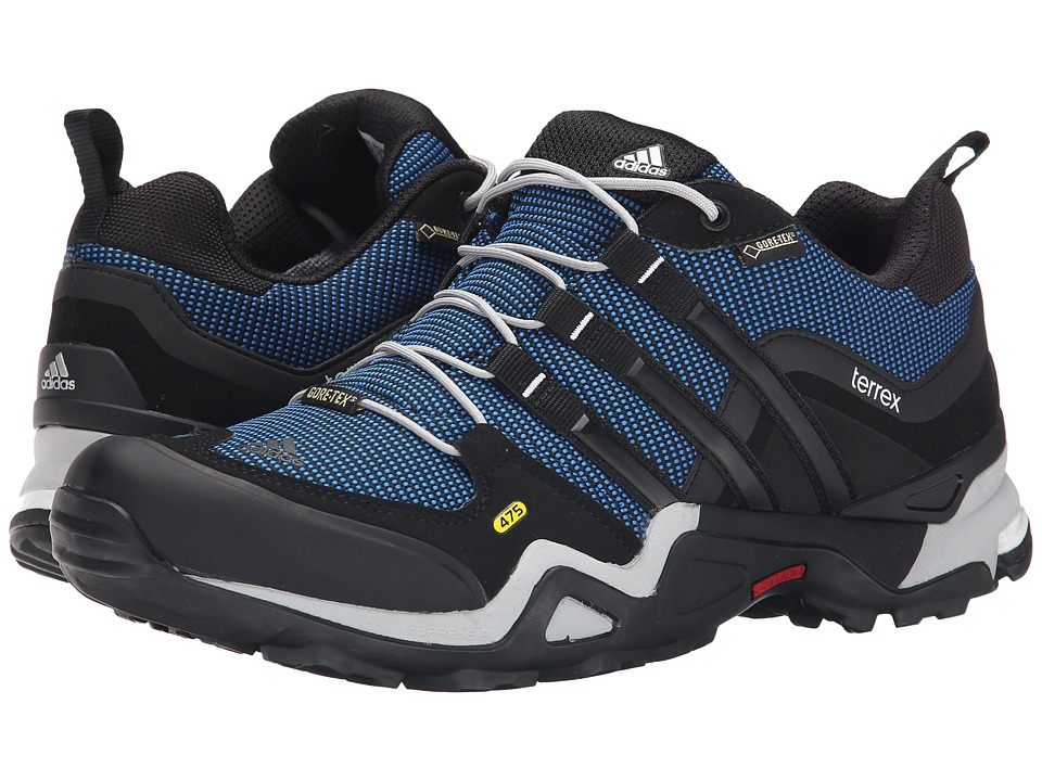 adidas Outdoor - Terrex Fast X GTX (Blue/Black/Clear Onix) Men's Shoes