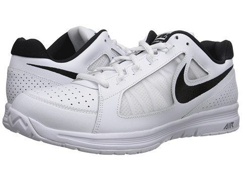 Nike - Air Vapor Ace (White/White/Black) Men's Tennis Shoes