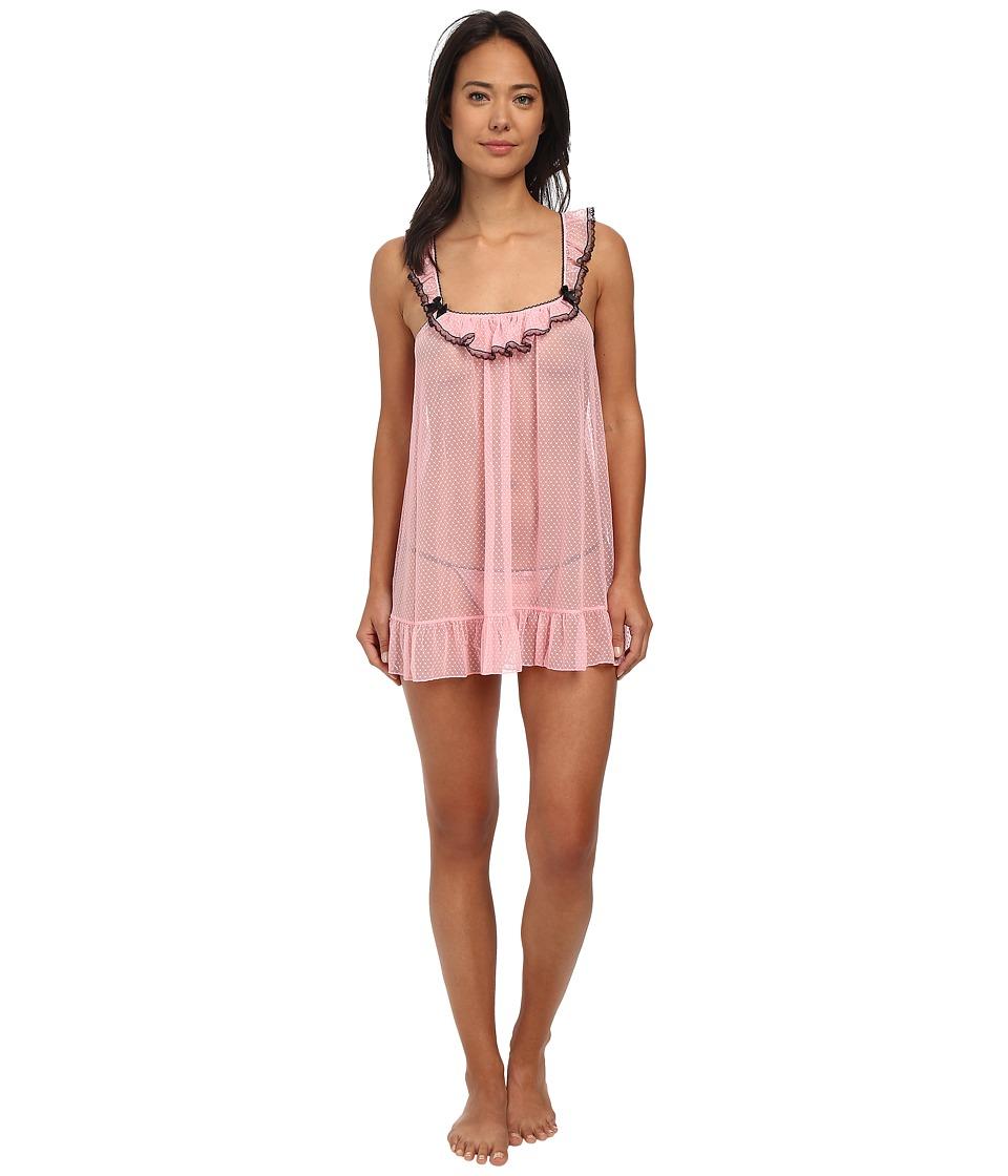Betsey Johnson - Point Desprit Babydoll (Precious Pink) Women's Pajama