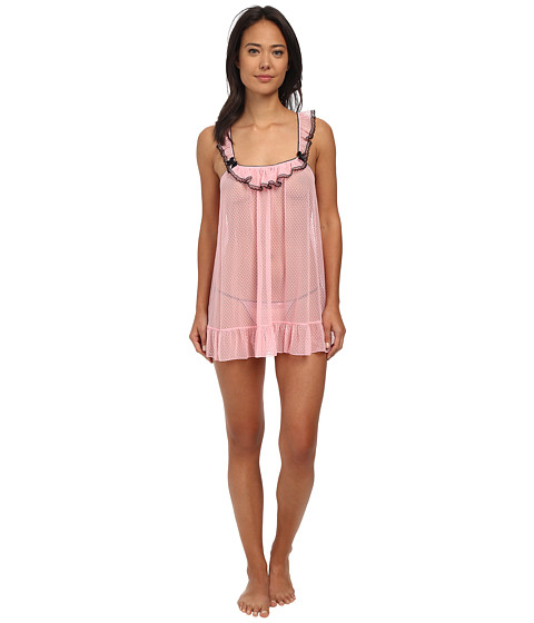 Betsey Johnson - Point Desprit Babydoll (Precious Pink) Women's Pajama