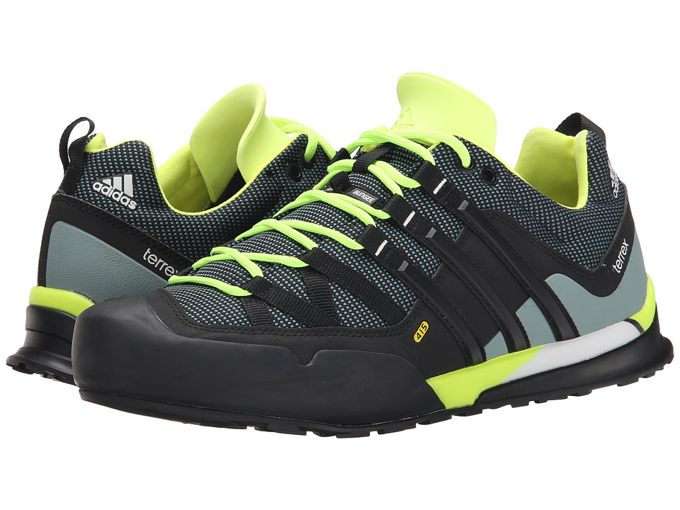 adidas Outdoor - Terrex Solo (Midnight/Black/Solar Yellow) Men's Climbing Shoes
