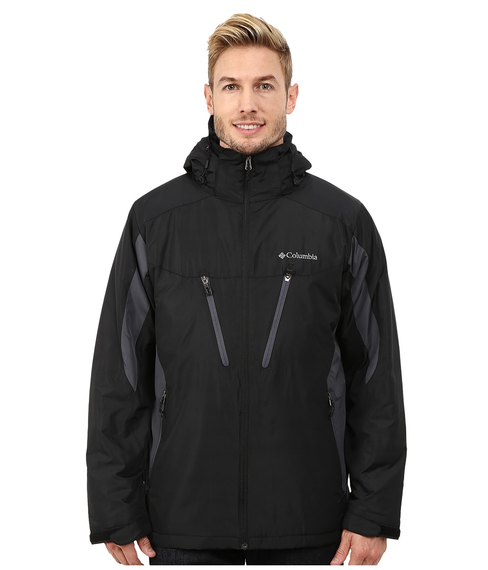 Columbia Antimony IV Jacket (Black/Graphite) Men