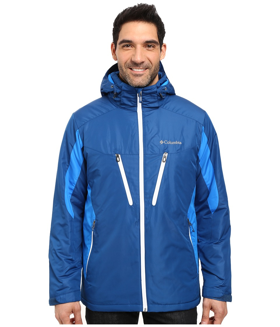 Columbia - Antimony IV Jacket (Marine Blue/Hyper Blue/White) Men's Coat