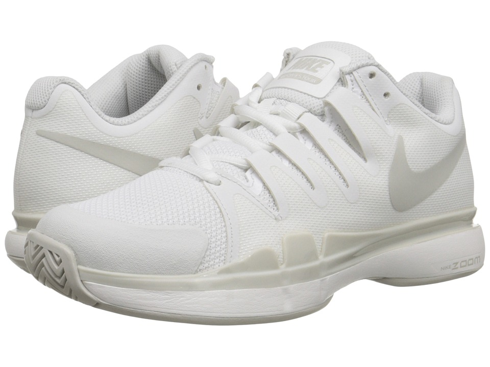 Nike - Zoom Vapor 9.5 Tour (Summit White/Light Bone/Light Bone) Women's Tennis Shoes