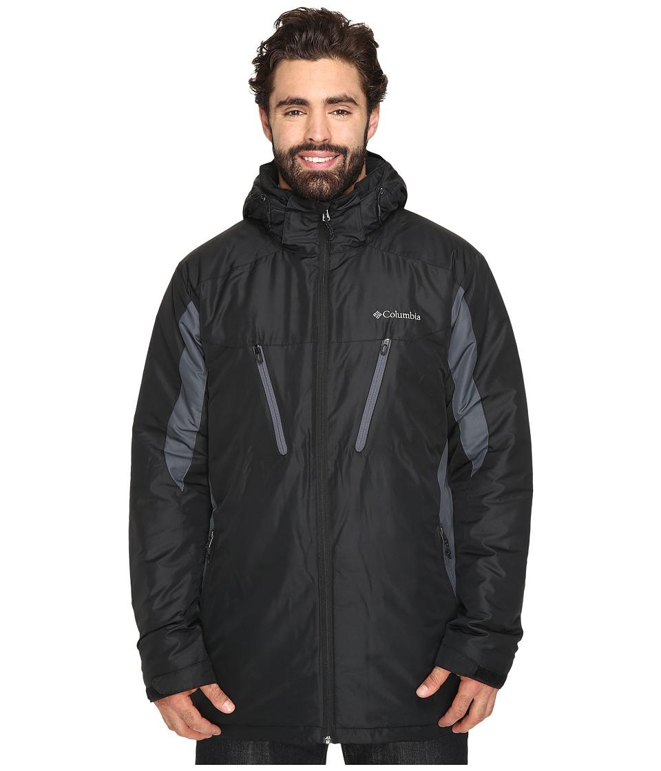 Columbia Big Tall Antimonytm IV Jacket (Black/Graphite) Men