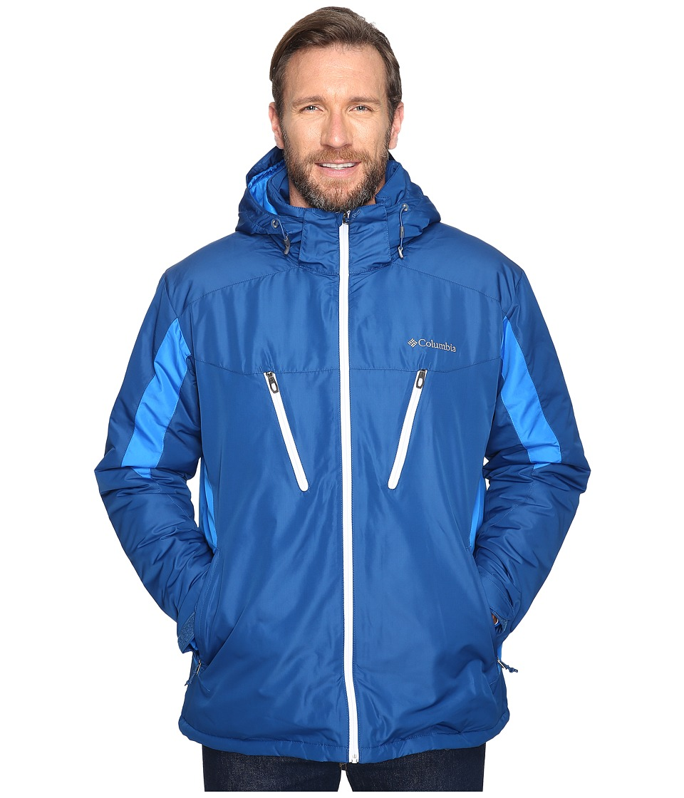 Columbia - Big Tall Antimony IV Jacket (Marine Blue/Hyper Blue/White) Men's Coat