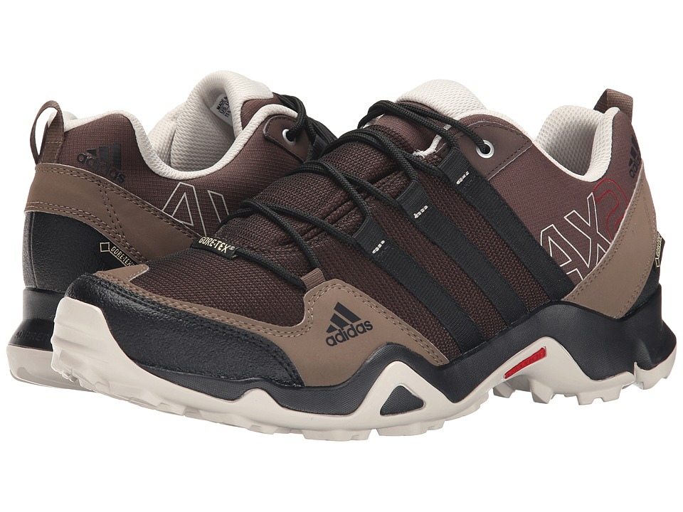 Image of adidas Outdoor - adidas Outdoor - AX 2 GTX (Brown/Black/Grey Blend) Men's Shoes