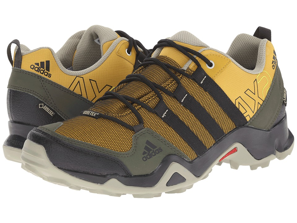 Image of adidas Outdoor - adidas Outdoor - AX 2 GTX (Raw Ochre/Black/Night Cargo) Men's Shoes