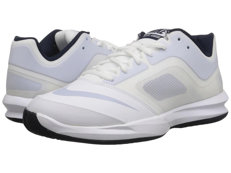 Nike - DF Ballistec Advantage (White/Obsidian/Porpoise) Women's Tennis Shoes