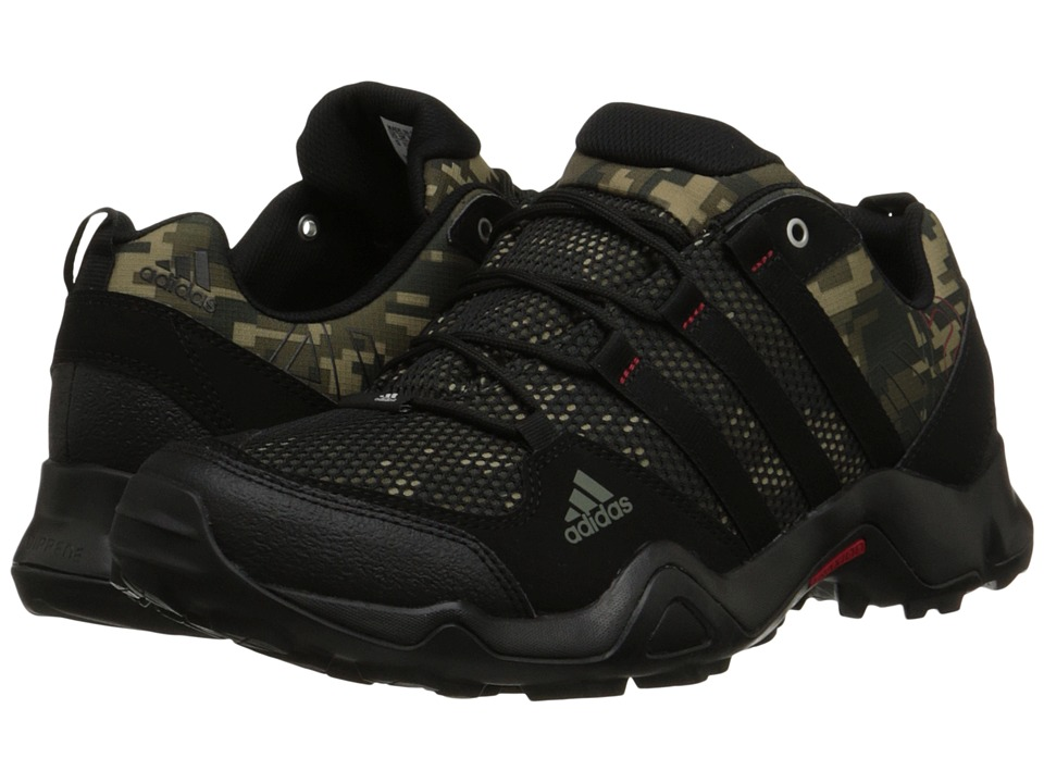 adidas Outdoor - AX 2 (Earth Green/Black/University Red Camo) Men's Shoes
