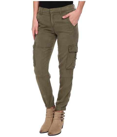 Lucky Brand - Tencel Cargo Pants (Field Green) Women
