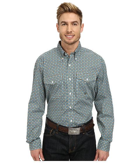 Roper - 9768 Diamond Foulard (Green) Men's Clothing