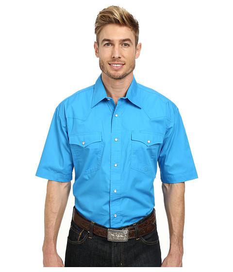 Roper - 9792 Solid Poplin (Blue) Men
