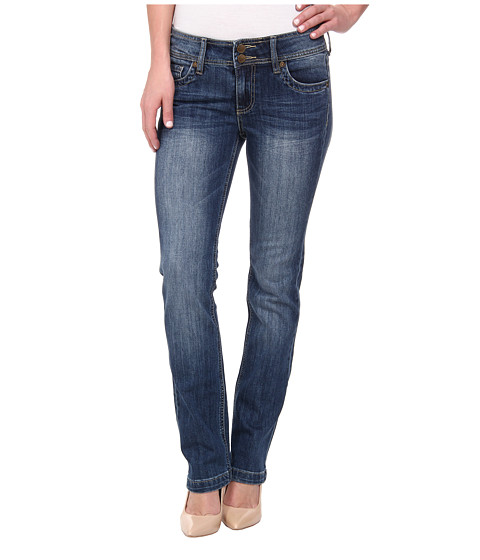 KUT from the Kloth - Straight Leg Double Button in Sedate Wash/Medium Base Wash (Sedate Wash/Medium Base Wash) Women's Jeans