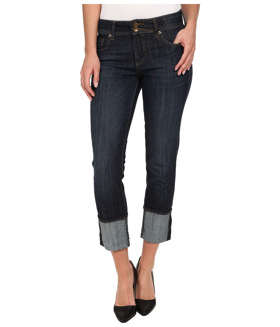 KUT from the Kloth Straight Leg Double Button in Opulent Wash/Euro Base Wash (Opulent Wash/Euro Base Wash) Women