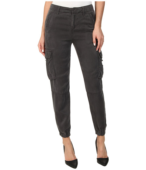 Lucky Brand - Tencel Cargo Pants (Grey) Women