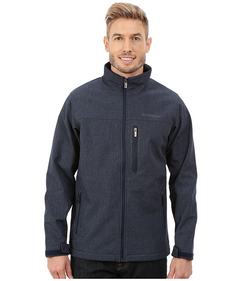 Columbia - Jackson Valley Softshell Jacket (Collegiate Navy) Men's Coat
