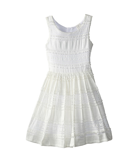 Ella Moss Girl - Morgan Dress (Big Kids) (White) Girl's Dress