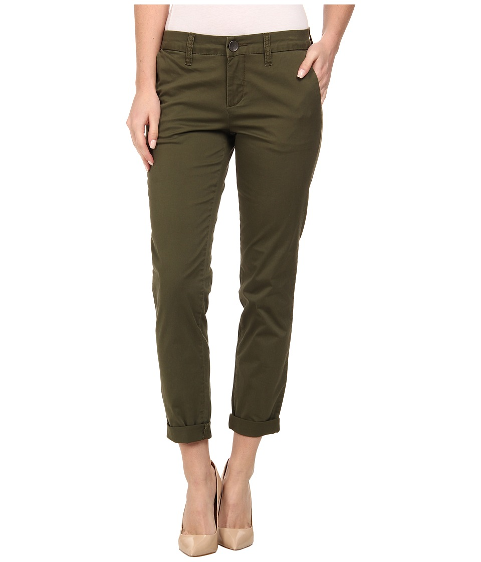 KUT from the Kloth - Ankle Trousers (Olive) Women's Casual Pants