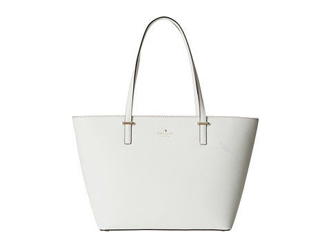 Kate Spade New York - Cedar Street Small Harmony (Bright White) Tote Handbags