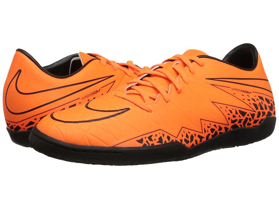 Nike - Hypervenom Phelon II IC (Total Orange/Black/Total Orange) Men
