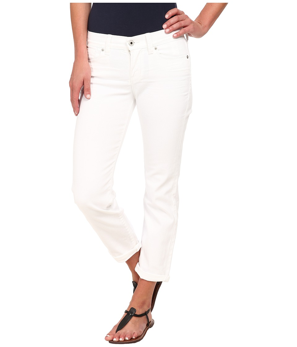 Lucky Brand - Mollie Crop (White) Women's Clothing