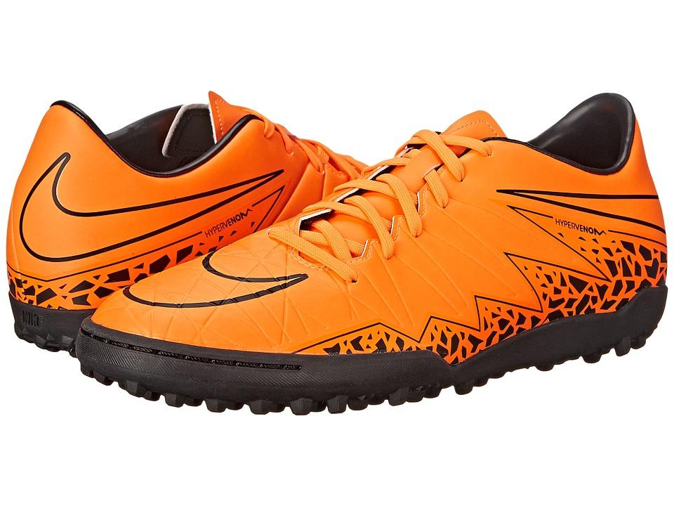 Nike - Hypervenom Phelon II TF (Total Orange/Black/Total Orange) Men's Soccer Shoes