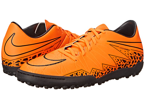 Nike - Hypervenom Phelon II TF (Total Orange/Black/Total Orange) Men's Soccer Shoes