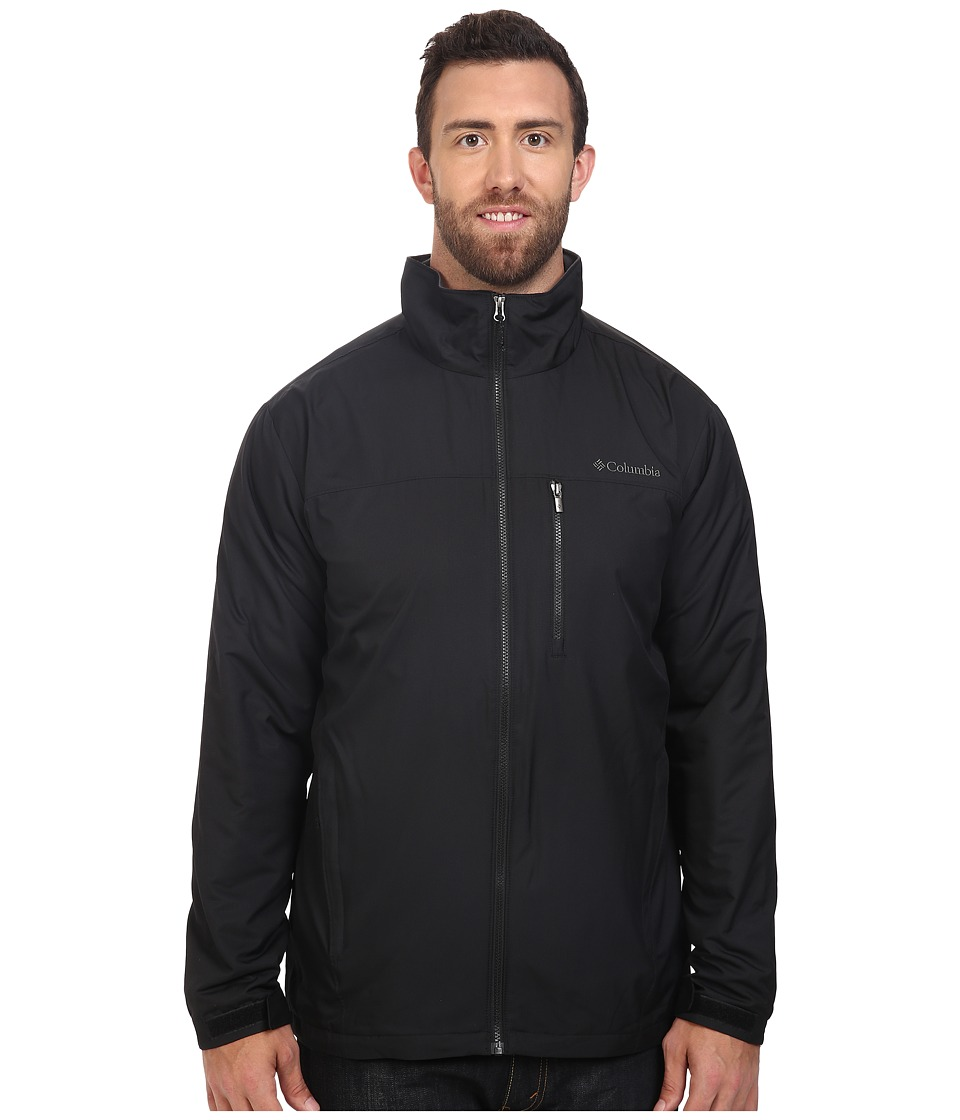 Columbia - Big Tall Utilizer Jacket (Black) Men's Coat