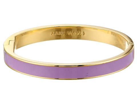 Kate Spade New York - Idiom Bangles Make Waves Bracelet - Hinged (Light Lavender) Bracelet