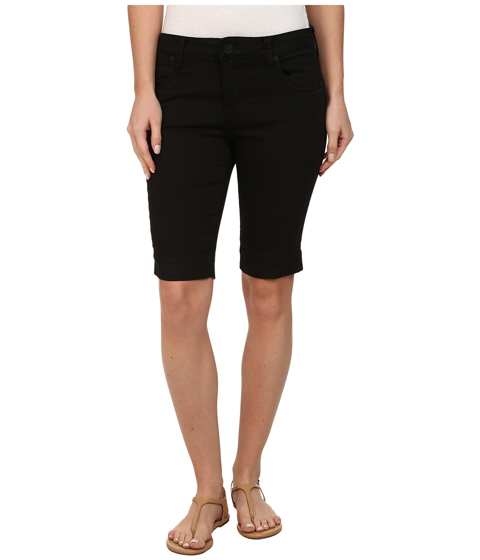 KUT from the Kloth - Natalie Twill Bermuda (Black) Women's Shorts