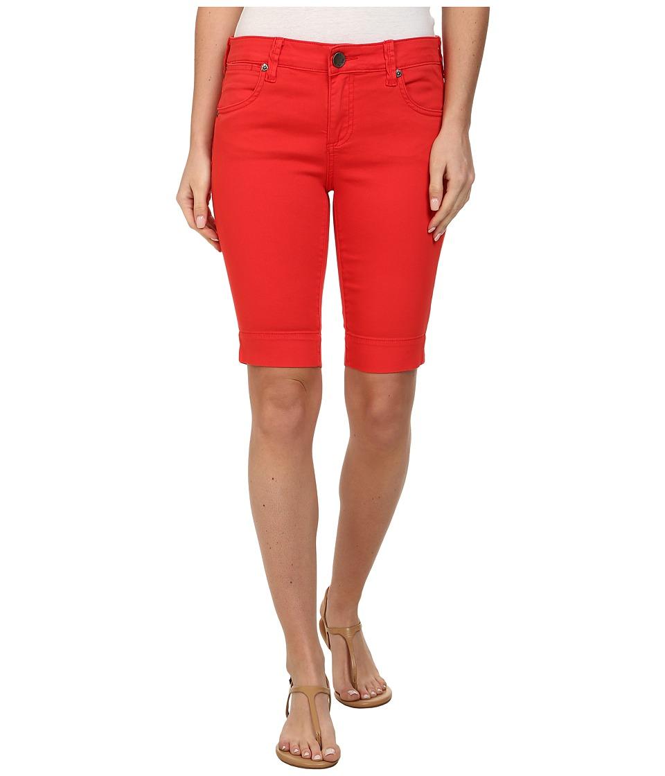 KUT from the Kloth - Natalie Twill Bermuda (Flame) Women's Shorts