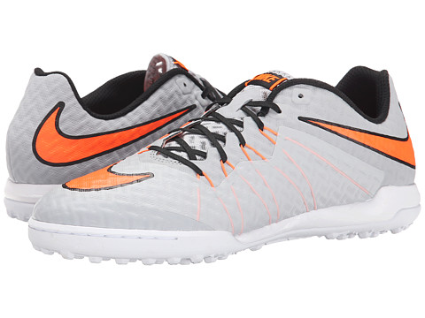 Nike - Hypervenomx Finale TF (Wolf Grey/White/Total Orange) Men
