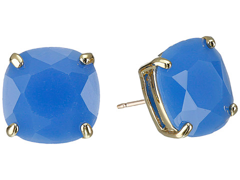 Kate Spade New York - Small Square Studs (Ocean Blue) Earring