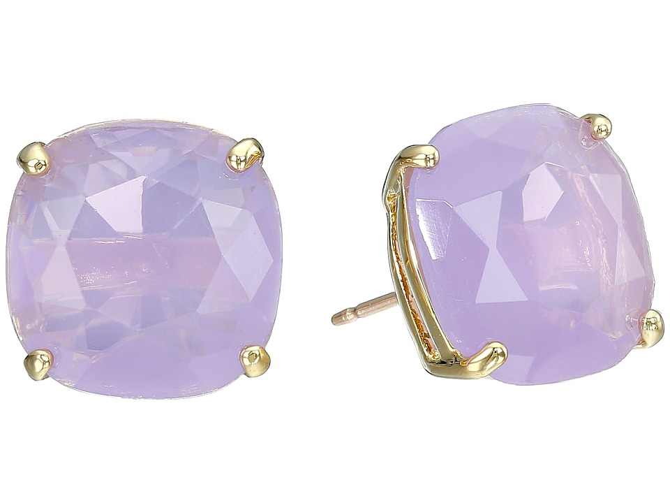 Kate Spade New York - Small Square Studs (Lilac 1) Earring