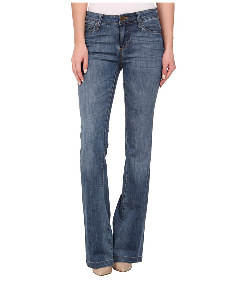 KUT from the Kloth - Chrissy Flare in Breathe Wash/Medium Base Wash (Breathe Wash/Medium Base Wash) Women's Jeans