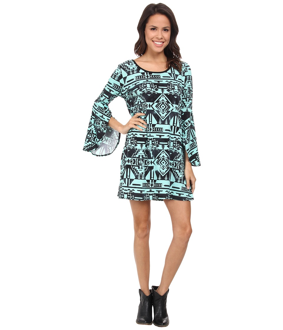 Scully - Sara Dress (Turquoise) Women's Dress