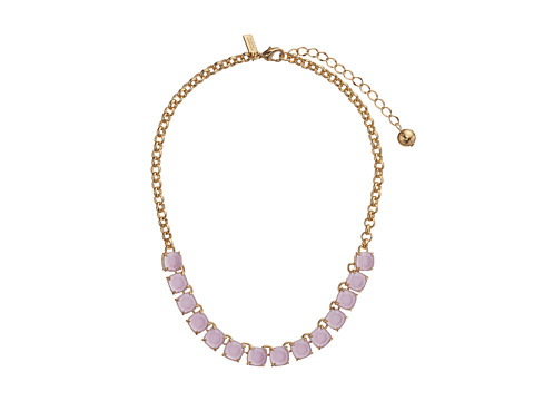Kate Spade New York - Squared Away Necklace (Lilac) Necklace