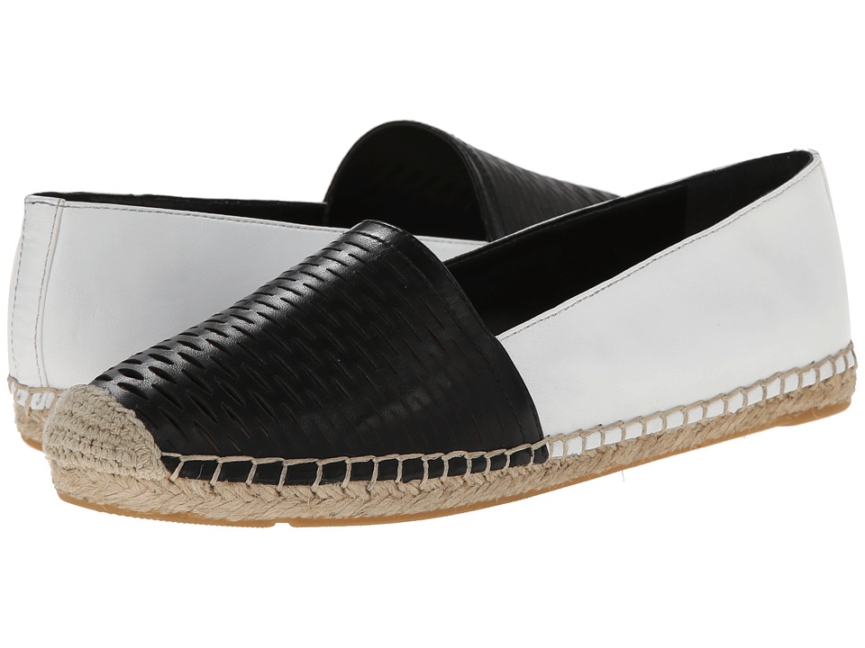 Vince Camuto - Disti (Black/New Ivory) Women's Slip on Shoes